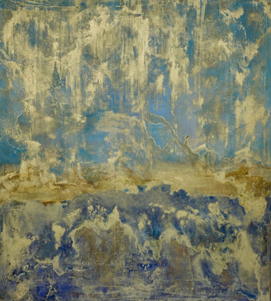Raphaello in Blue Painting